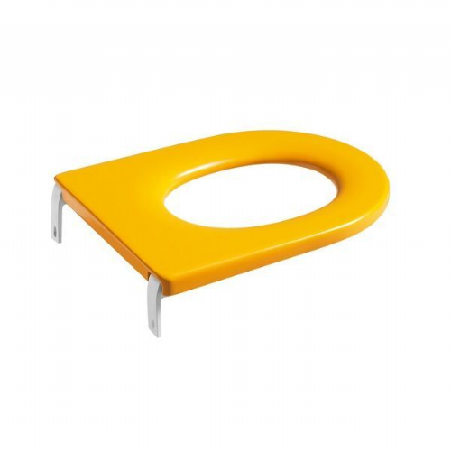 Roca Happening Infant Soft Close Toilet Seat - Yellow